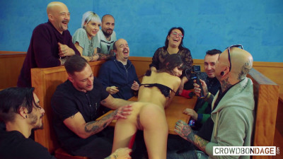 Hardcore sex in group bdsm session with anya krey