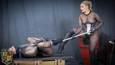 Gord's Bizarre Chair Gets Nasty Cuffs