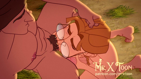 Mr XToons Tarzan & Milo - 1080p