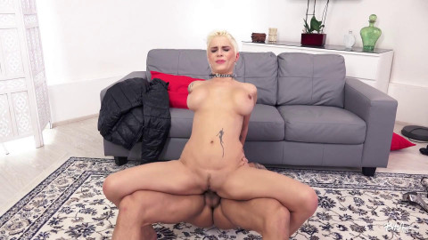 Mila Milan - Short haired blonde enjoys hardcore sex abroad (2018)