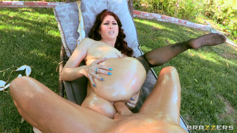 Sexy Redhead Milf Loves Riding Big Cock