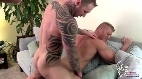 Unique collection American Muscle Hunks - New Collection 20 Clips.