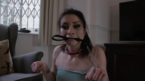 Super tying, domination and suffering for very hawt brunette hair