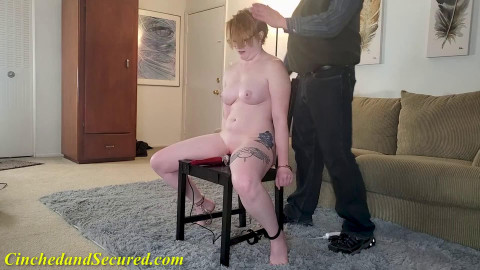 Tight tying, punishment and domination for stripped sexy hotty