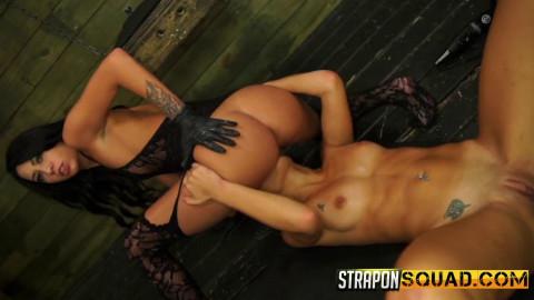 Marina Angel Loves Lesbian Domination & Sybian with Esmi Lee