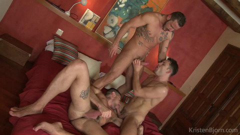 On the Prowl - Scene 15: James Castle, Antonio Miracle, Mario Domenech