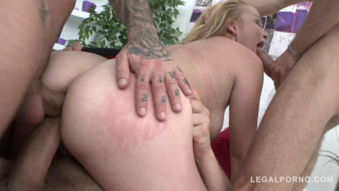 Rebecca Sharon takes balls deep fucking with dap
