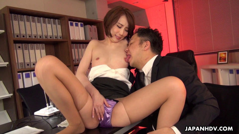 Aya Kisaki - Office Slut Seduces A Colleague (2020)