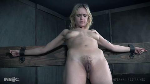 Super restraint bondage, spanking and torment for concupiscent slavegirl part TWO