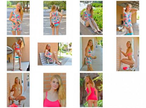 Hannah Homegrown Teen Picture Set