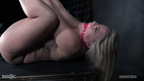 Bondage, spanking and castigation for very concupiscent golden-haired part 1