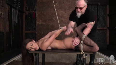 Super restraint bondage, pain and domination for hawt youthful cutie part 2 Full HD 1080