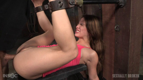 Bounded and drilled by biggest shlong & fucking machine