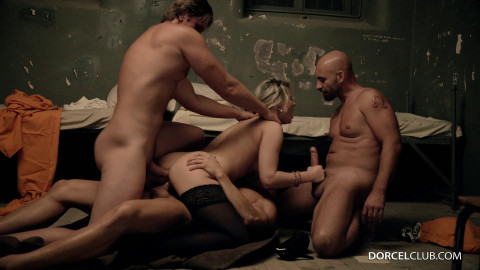 Samantha Jolie Fucked Hard By 3 Inmates
