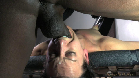 Elise Graves takes on 10 inch BBC and massive multiple orgasms