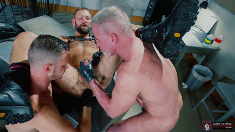 Fist Fuck Police Department scene 5 - Brian Bonds, Josh Mikael, Dale