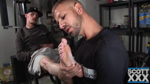 ScottXXX Deacon Hunter & Ryan P - Workout Buddies