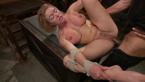 Hot Blonde Takes Huge Cock(Krissy Lynn, Mickey Mod)