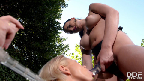 Fetish Lesbians Love Anal Insertion