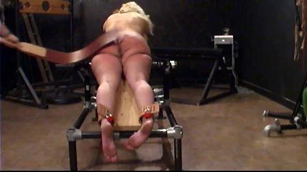 Slave Fyre - Prison Strap Torture