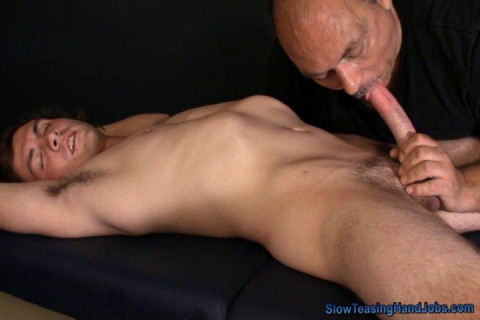 Nursing on a Hard Cock