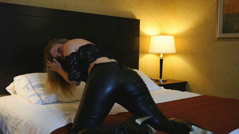 Xev Bellringer - Leather Pillow Humping