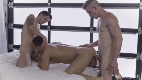 Hot 3some Dakota Payne, Nick Fitt & Colby Tucker 720p