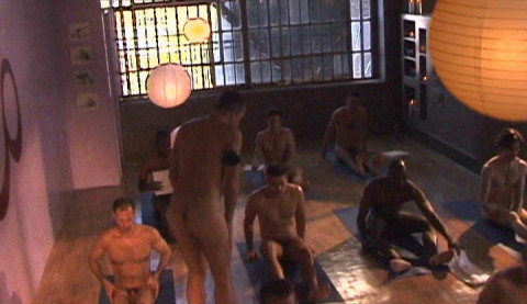 Aaron Stars Hot Nude Yoga - Strength (2005)