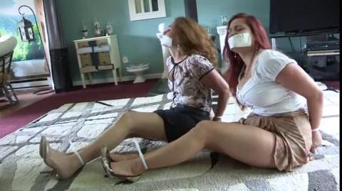 Gals in Restraint bondage