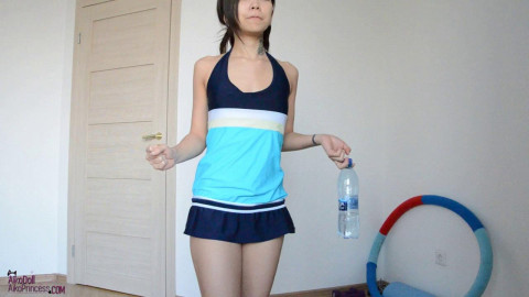 Pee Desperation Measuring Cup Swimsuit