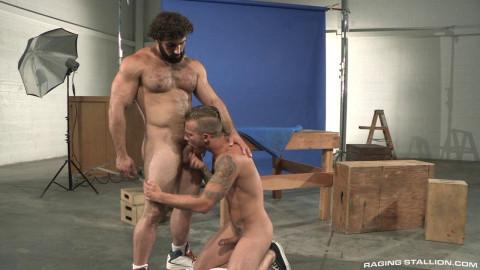 A rough masculine strength