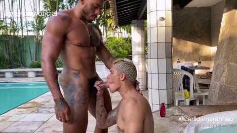 Marcel Rodrigues and Carlos Maranhao