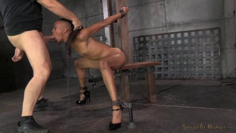 Toned dancer Nikki Darling strictly