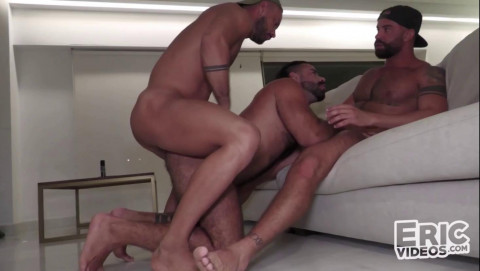 Hot 3some Sir Peter, Teddy Torres & Bruno 828p