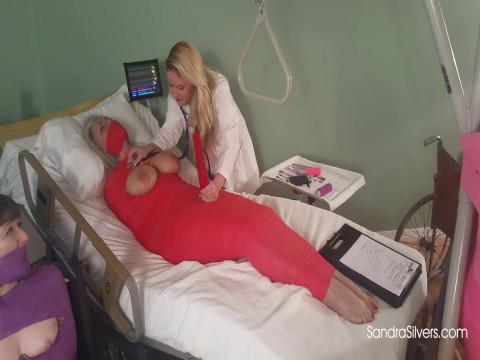 Nurse Lisa Gives Bondage Orgasm Therapy to Mummified MOTHER ID LIKE TO FUCK