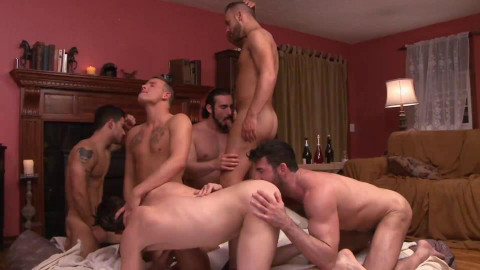First Gang Bang Party