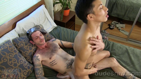 David Ace and Tristan Mathews - An Awesome Creampie!