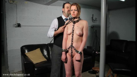 Taut restraint bondage and domination for hot undressed slavegirl part FIRST