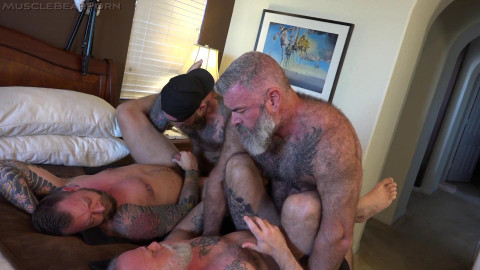 Bearded Big-Dick Bros - Jack Dixon, Liam Griffin, Liam & Will Angell