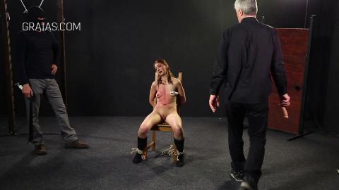 Hard Tortures For Skinny Rural Girl