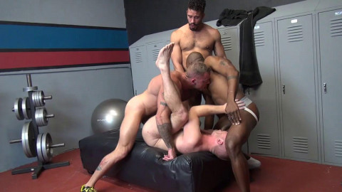 Gym Breeding (Sean Duran, Scott Riley, Trey Turner & Osiris Blade)