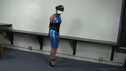 Anna Lee - Day Dreaming animalism the Office 27 - Latex office pliant