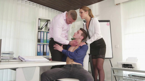 Alexis Crystal, Thomas B, Ryan Cage( Bi Bosses )