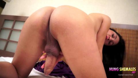 Teen Tranny with Massive Penis TS Natalia Dior - Full HD 1080p