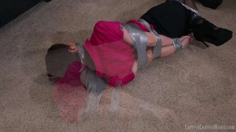 Captive Chrissy Marie - Too Much Tape To Escape