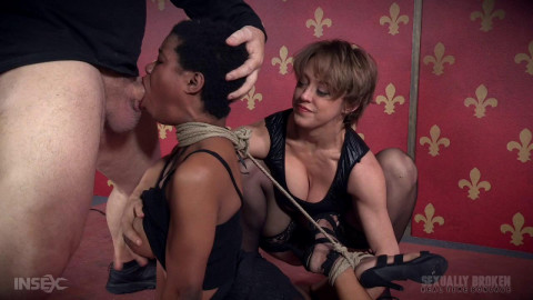Fucking in Rough Rope Restraint bondage With Serious Orgasms!