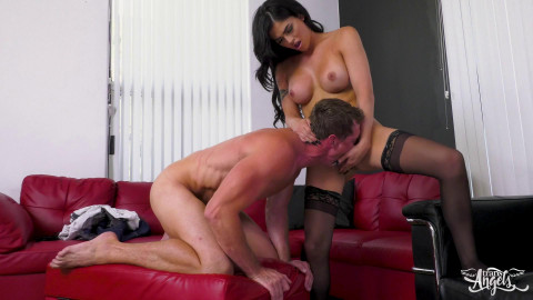 Pierce Paris and Domino Presley Fucked For The Very First Time (2017)