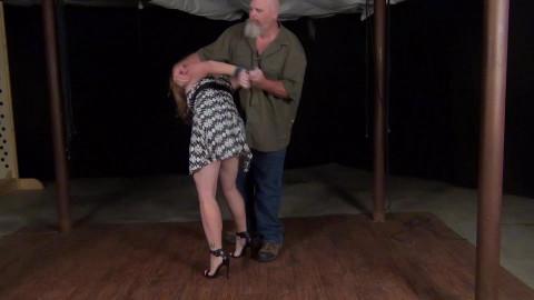 Carmen Rough: Standing Crossankles