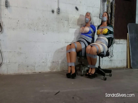 Silk Blouse MOTHER ID LIKE TO FUCK Ladyboss and her Secretary