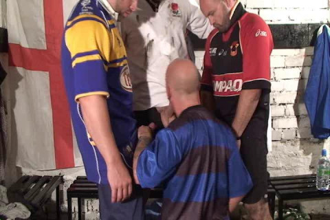 Rugby Players Get Extra Balls